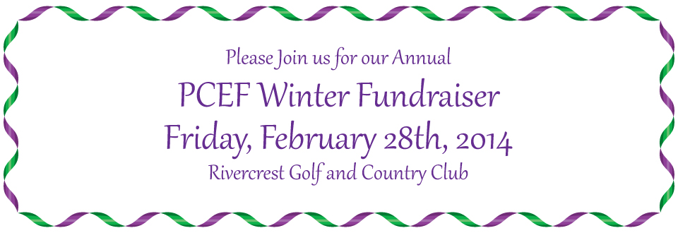 PCEF Winter Fundraiser 2015