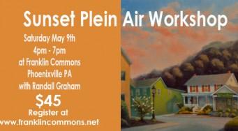 Sunset Plein Air Drawing Workshop