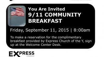 9/11 Community Breakfast
