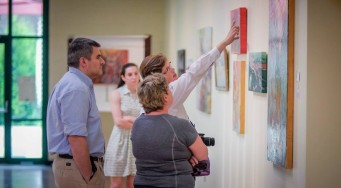 Art Critique at The Art Gallery at Franklin Commons