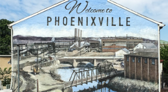"""Unveiling of the """"Welcome to Phoenixville"""" Mural"""